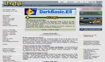 Screenshot Julio 2001